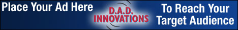 Advertising on DAD Innovations web site